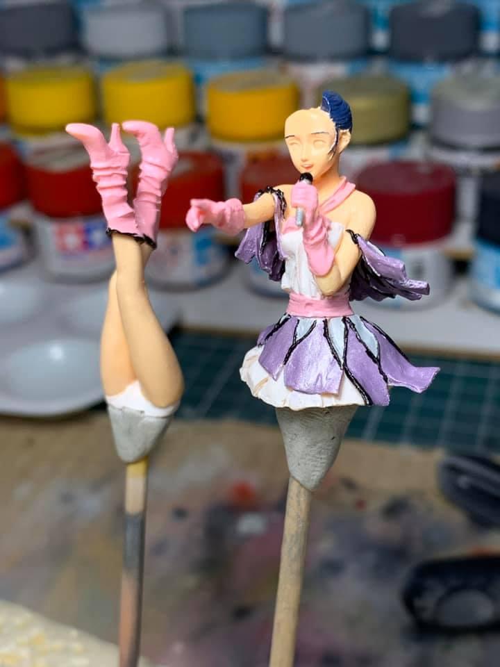 Figurine Macross Lynn Minmay 0189