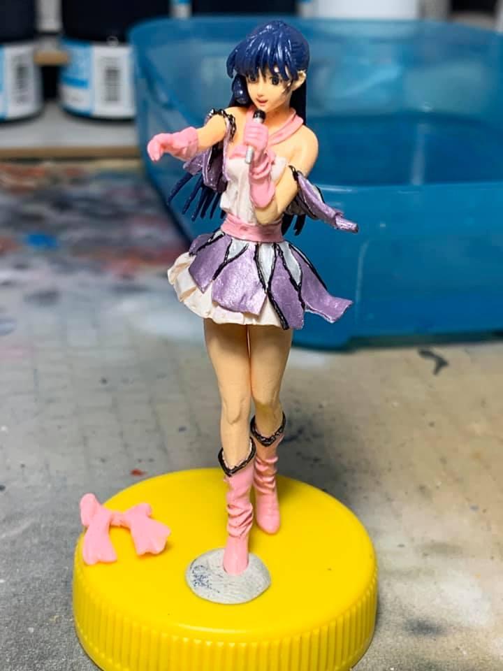Figurine Macross Lynn Minmay 0190