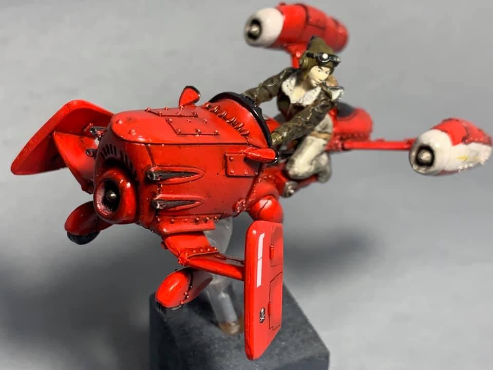engin resine S.H.E. ~Mücke~ (Spionage Hybrid Einheit) 1/35  02116