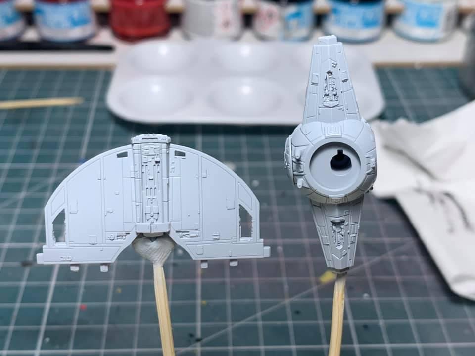 TIE fighter et TIE interceptor 0251