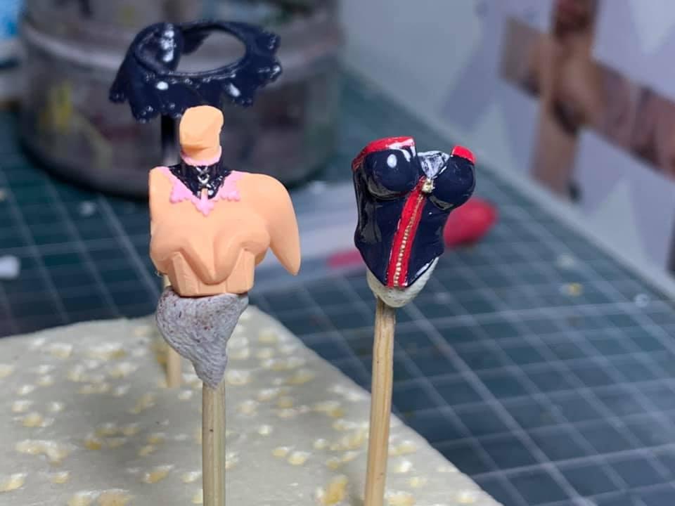 Figurine Macross : Sheryl Nome & Ranka Lee 0351