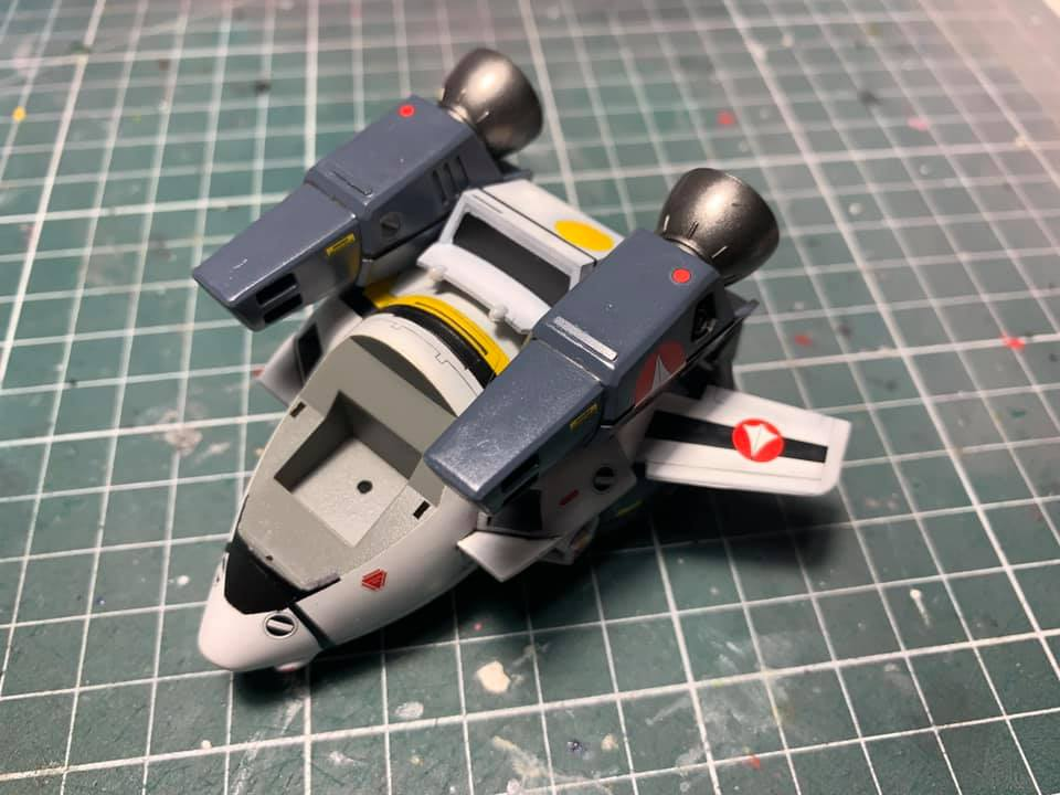 Macross Egg-Plane Hasegawa : VF-1A Production Type et VF-1S super valkyries 0483