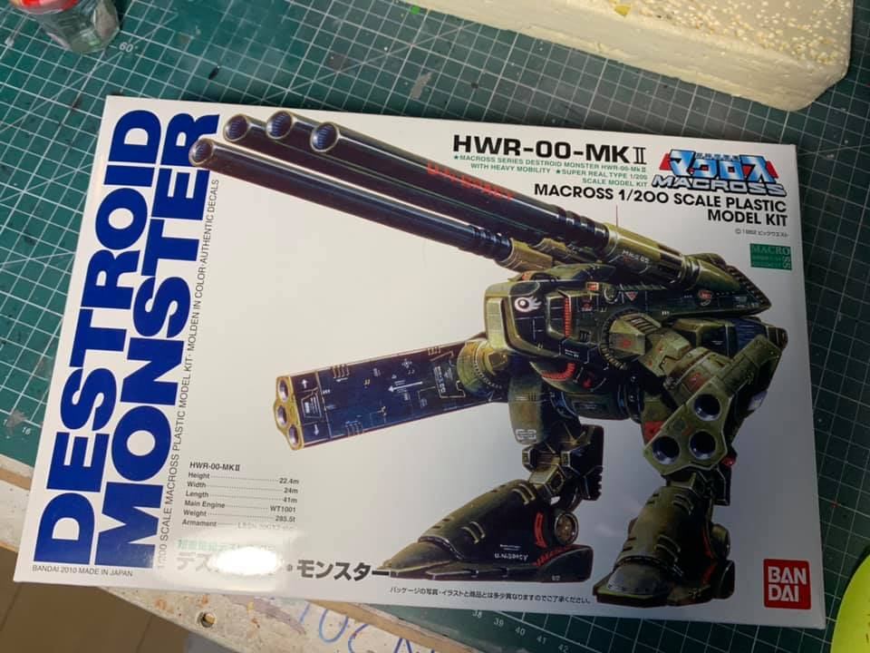 Macross Destroid Monster 1029