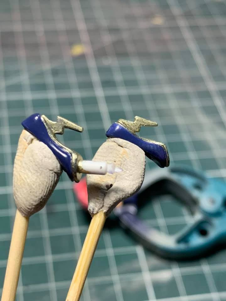 Figurine Macross : Sheryl Nome & Ranka Lee 70895710