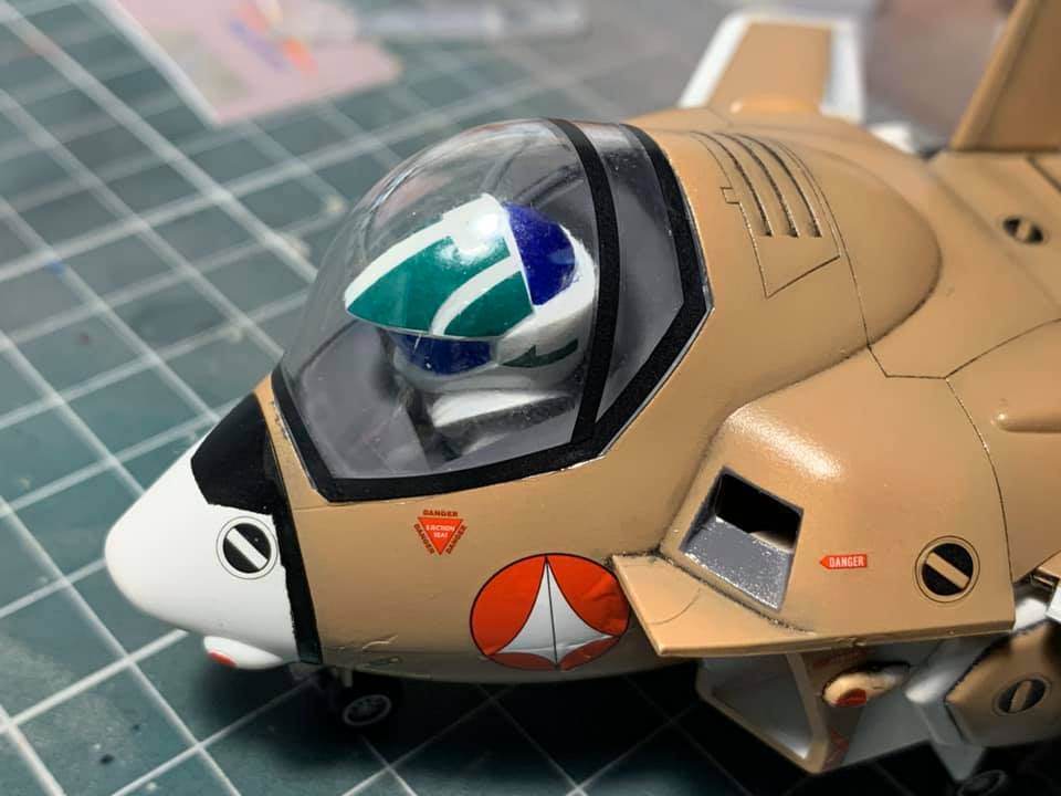 Macross Egg-Plane Hasegawa : VF-1A Production Type et VF-1S super valkyries 96095610