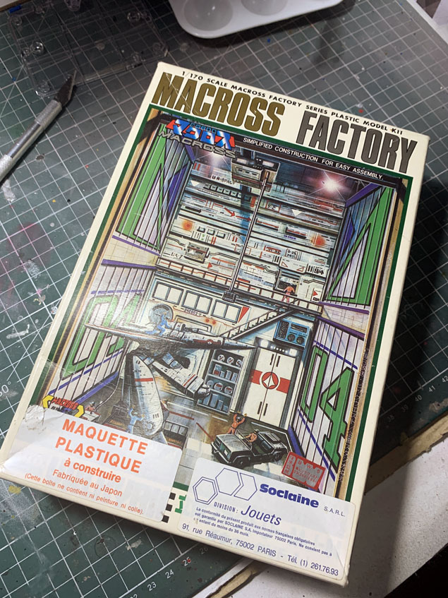Diorama vintage Macross Factory 04 Img_7032