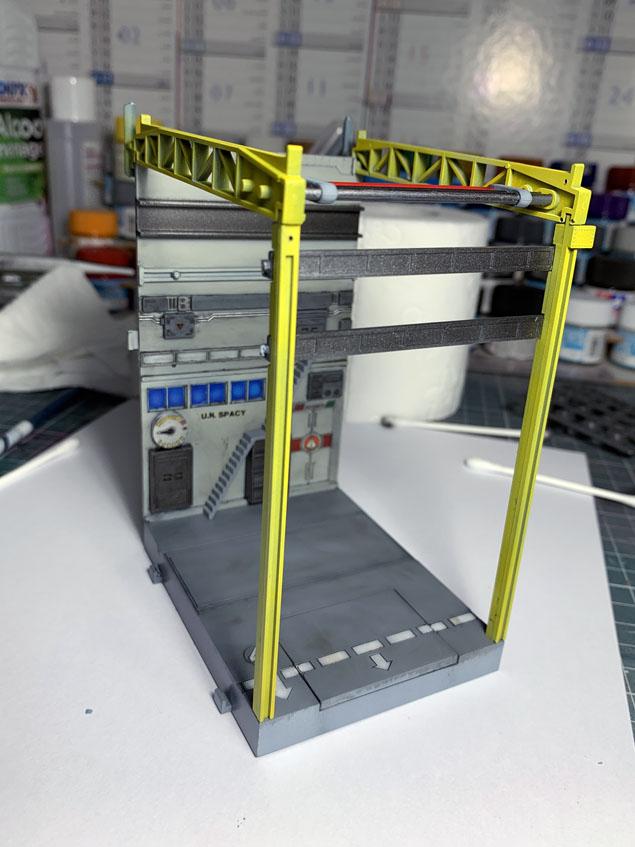 Diorama vintage Macross Factory 04 Img_7213