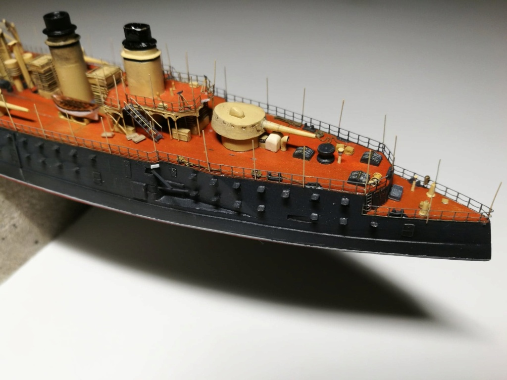 Croiseur Cuirassé Gloire 1/600 scratch intégral  - Page 6 74360810