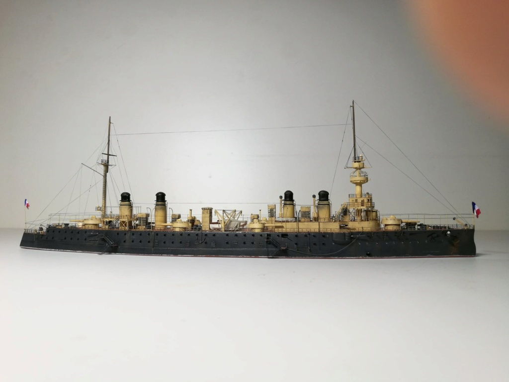 Croiseur cuirassé Gloire 1/600 de chris 80685010