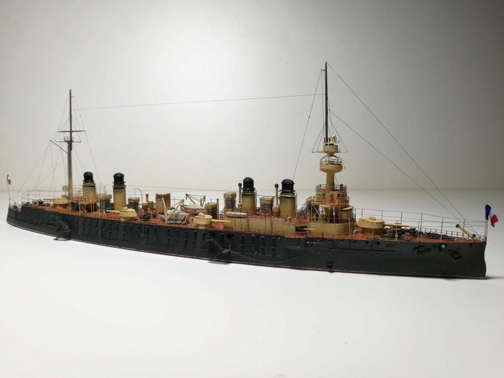 Croiseur cuirassé Gloire 1/600 de chris 80826510