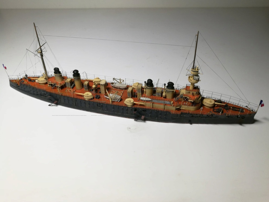 Croiseur cuirassé Gloire 1/600 de chris 81642710