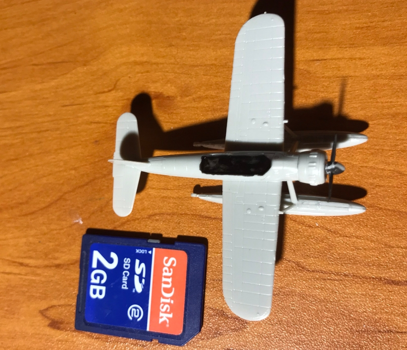 Cuirassé Bismarck au 1/200 - Trumpeter Arado310