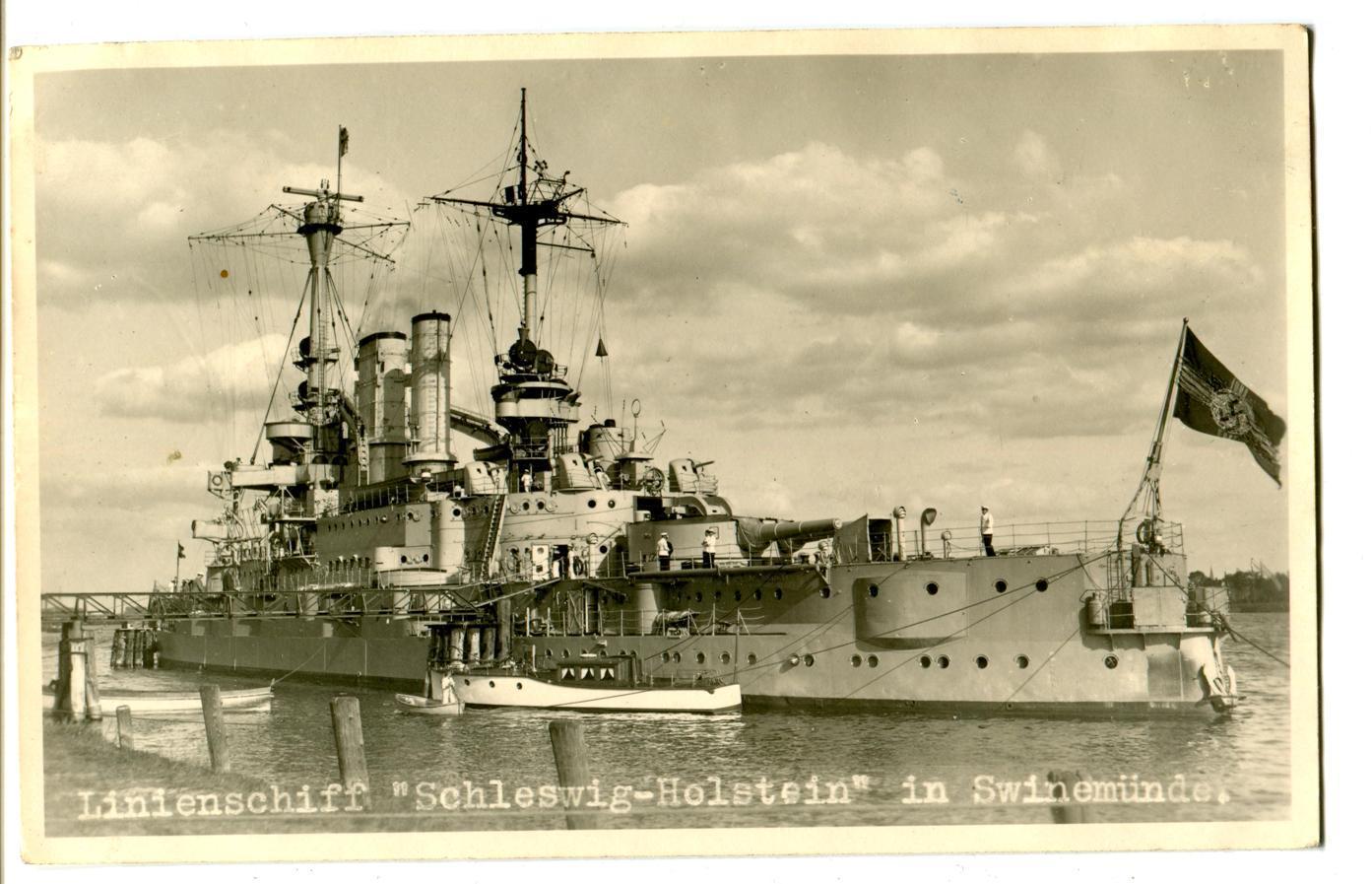 SCHLESWIG-HOLSTEIN  TRUMPETER     1/350 Img40210