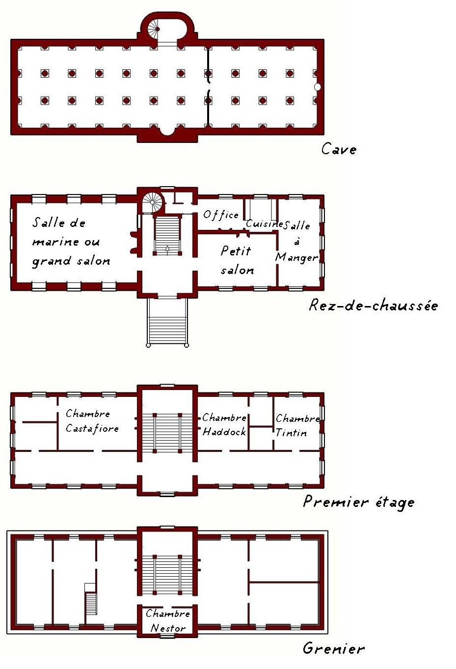 Le Château de Moulinsart, 1/60 scratch par migou31 Plan-d10