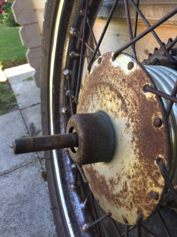 rear - Cruiser 89 rear hub without speedo drive 2df13410