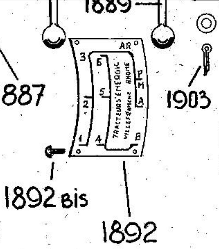 energic - Plaque de vitesses Energic 409. 1_310