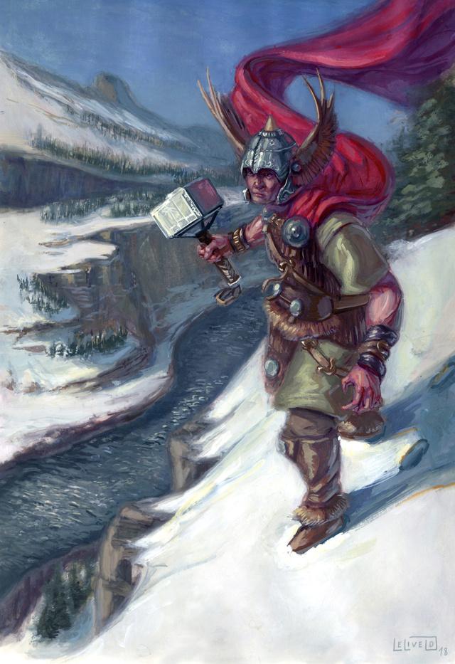 Illustrations de Jari (aka Odilion)  - Page 2 Thor210