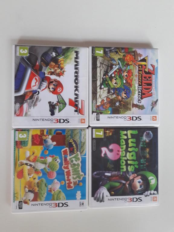 [VENDS]Lot 4 jeux Nintendo 3DS 20200512
