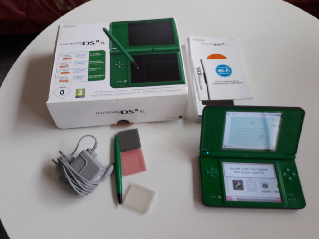 [VENDU]Console Nintendo DSi XL + 5 jeux DS Mario 20200613