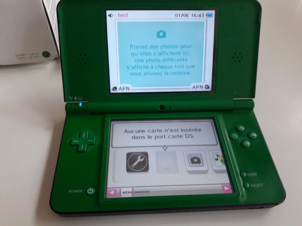 [VENDU]Console Nintendo DSi XL + 5 jeux DS Mario 20200615