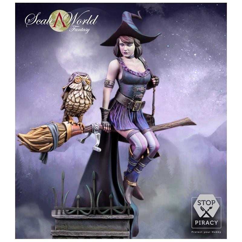.Heather Crowley - Scale75 - 1/24 Scale World Fantasy - Résine.[ Finie ] Scf-0210
