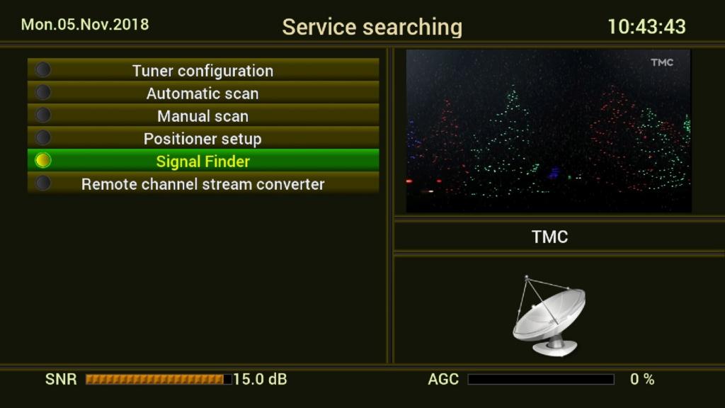 OCTAGON SF 8008 4K 4310