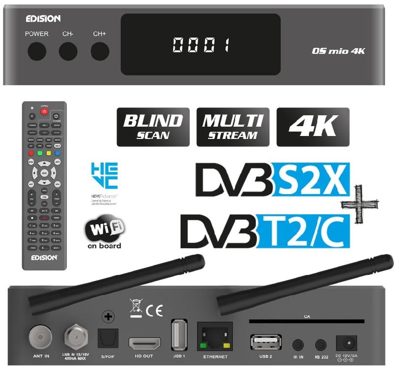 Edision OS MIO 4K Ed10