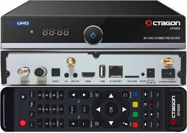 OCTAGON SF 8008 4K Oc10