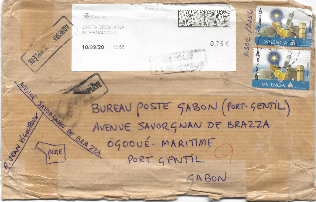 CORREO DEVUELTO  Gabon_19