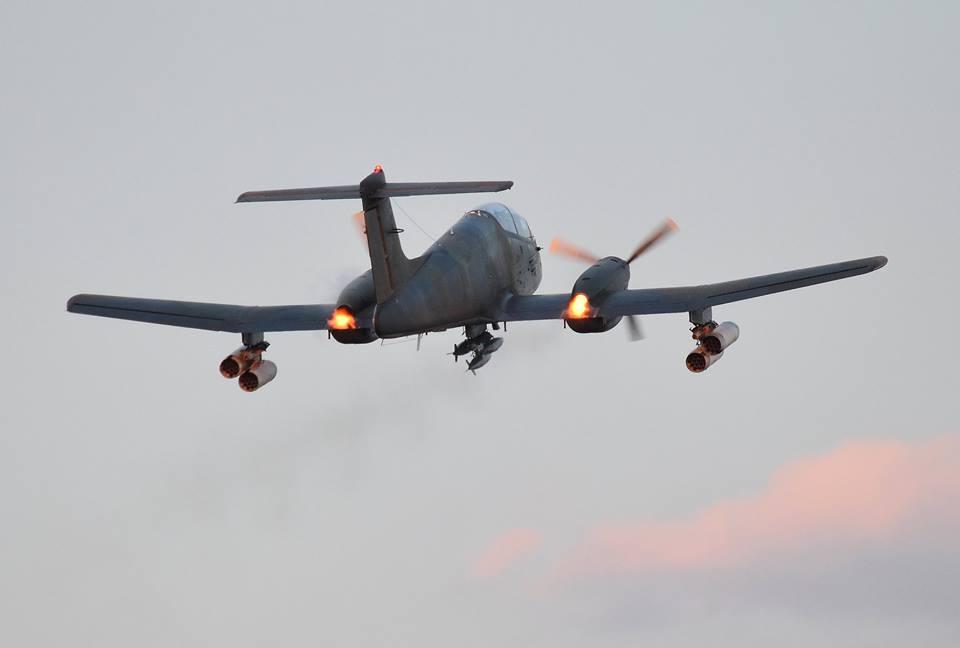 Incidente IA-58 Pucara A-568 en el aeródromo de Avellaneda 42432910