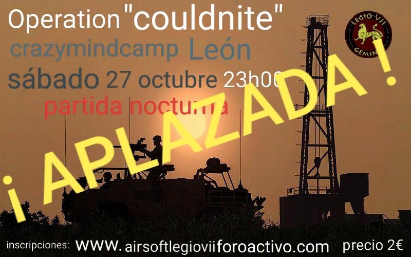 """operation """"couldnite"""" sabado 27 octubre 23h00 20181011"""