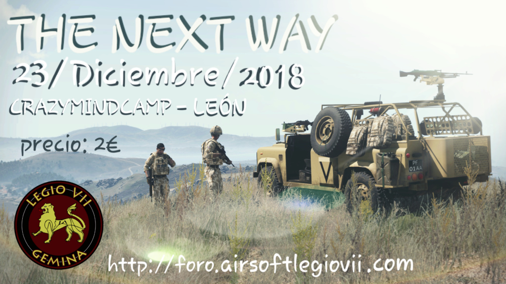 THE NEXT WAY, DOMINGO 23 DICIEMBRE 2018 CRAZYMINDCAMP 20181210