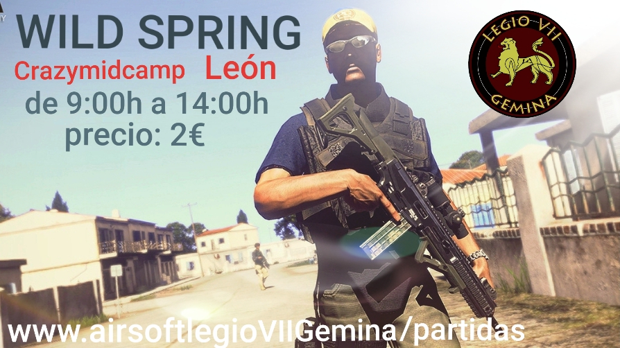 Operation WILD SPRING 12 DE MAYO DE 2019 CRAZYMIDCAMP LEÓN  20190412