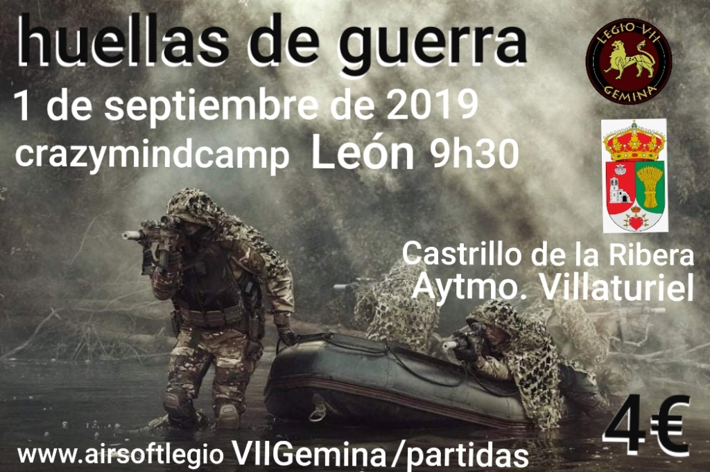 HUELLAS DE GUERRA 20190812