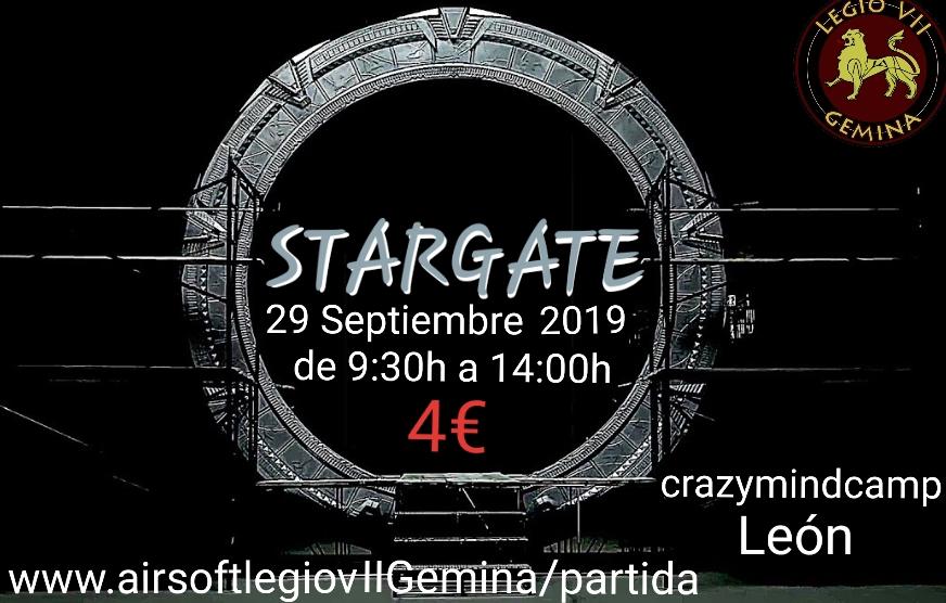 STARGATE 29 septiembre 2019 crazymindcamp León 9h30 20190910