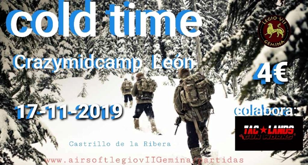 Cold Time op. 17-11-2019 Crazymidcamp León. 20191111