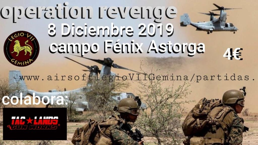 OPERATION REVENGE 8 DE DICIEMBRE DE 2019 CAMPO FÉNIX ASTORGA  20191112