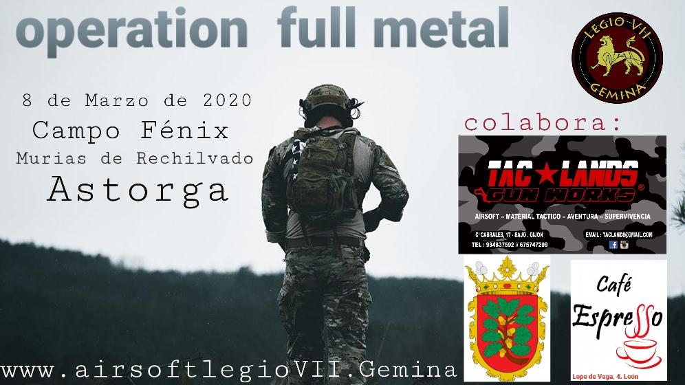 Operation Full Metal 8 de Marzo de 2020 campo Fénix Astorga  20200210