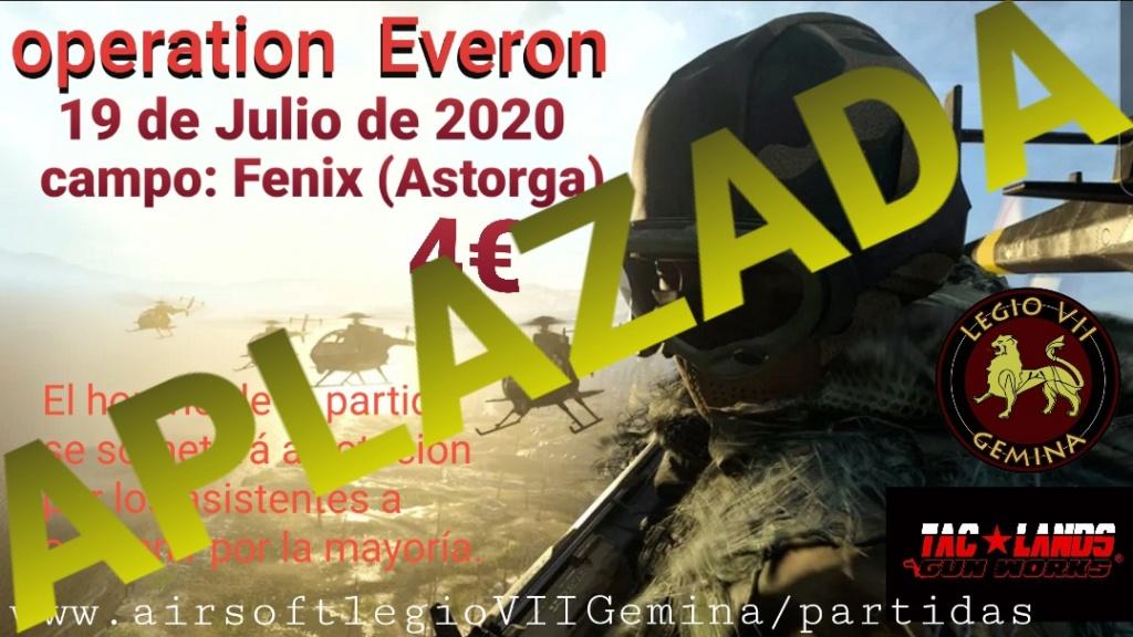 APLAZADA la Operation EVERON,  19 DE JULIO DE 2020 CAMPO FÉNIX ASTORGA  20200711