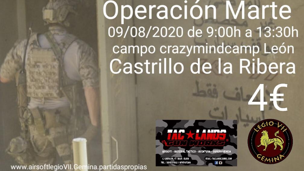Operación Marte 09/08/2020 Crazymidcamp León 20200811