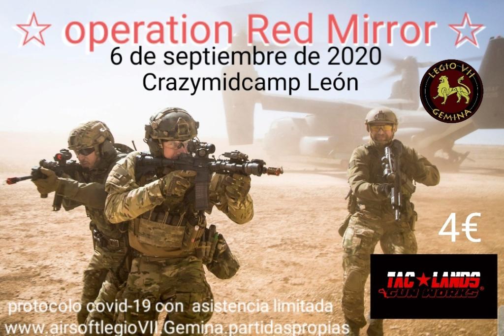 Operation Red Mirror 6 de septiembre de 2020 Crazymidcamp  20200814