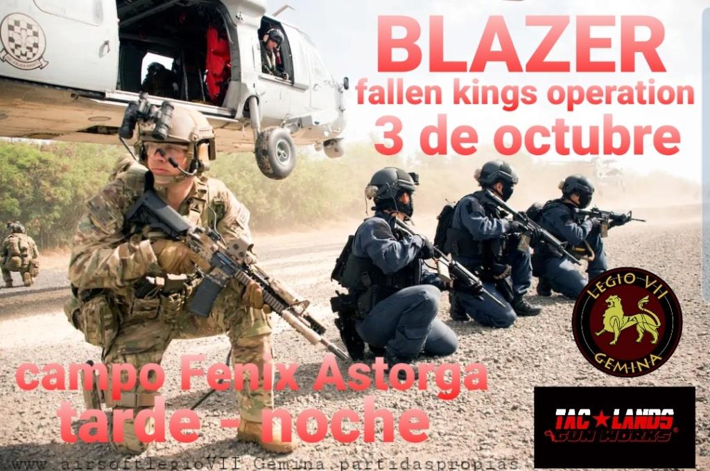 BLAZER fallen kings operation 3 de octubre tarde- noche Astorga 20200910