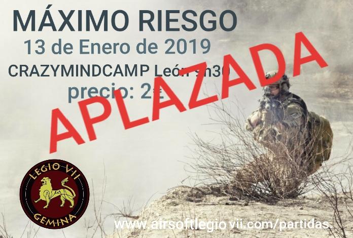¡APLAZADA!  13 DE ENERO 2019 Crazymindcamp León Img-2014