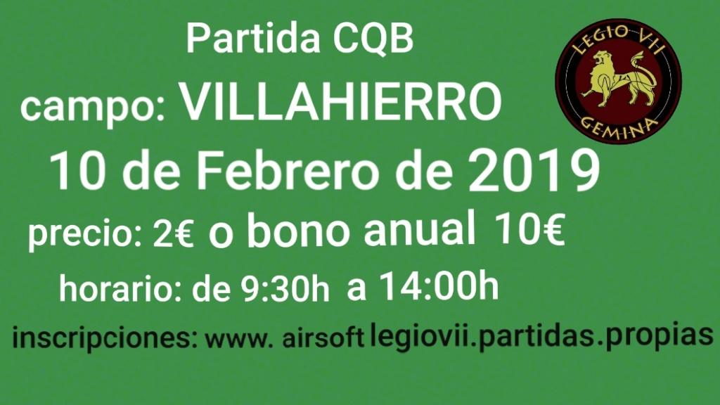 Partida CQB campo: Villahierro 10 de febrero de 2019 Img-2015