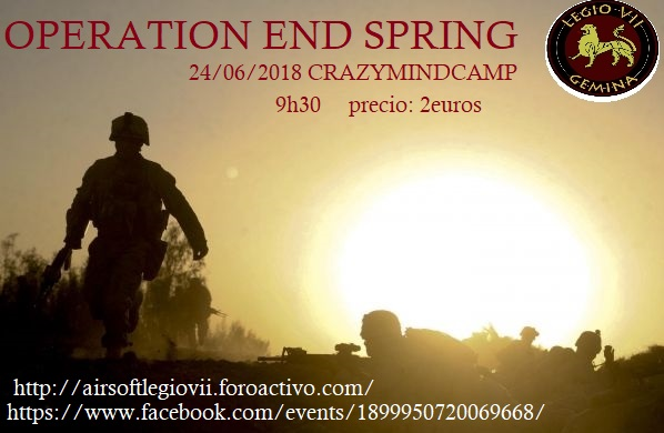 "24/06/2018 ""crazymindcamp"" OPERATION END SPRING Operti10"