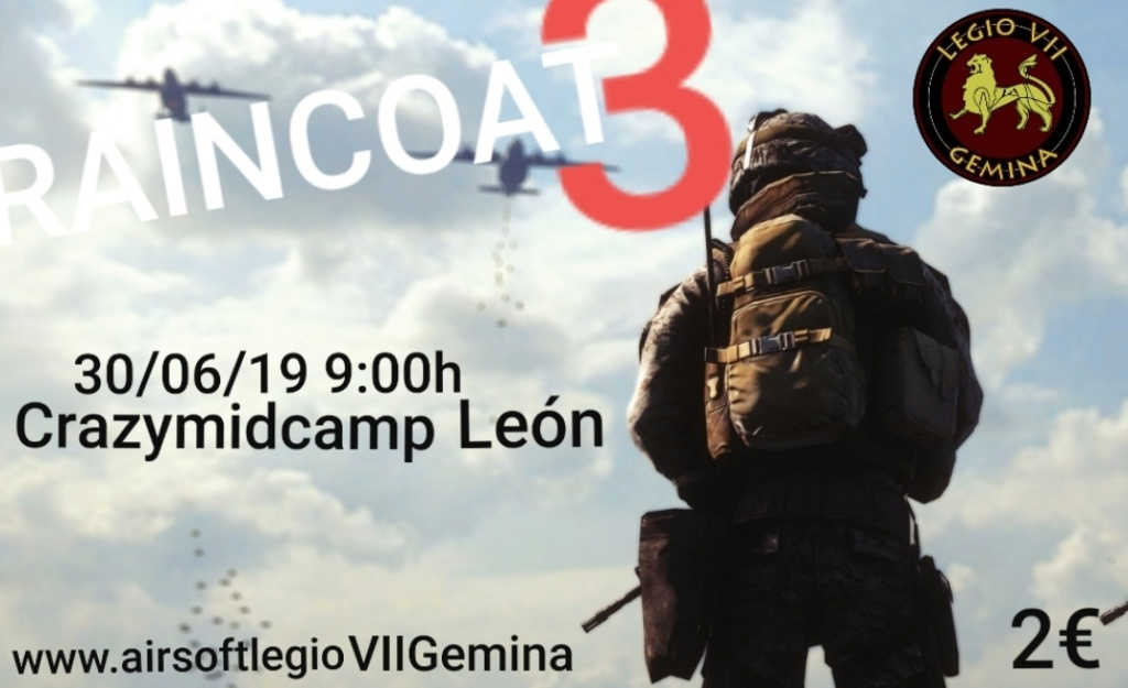 Operation RAINCOAT 3 CRAZYMIDCAMP LEÓN 30/06/19 Smarts11