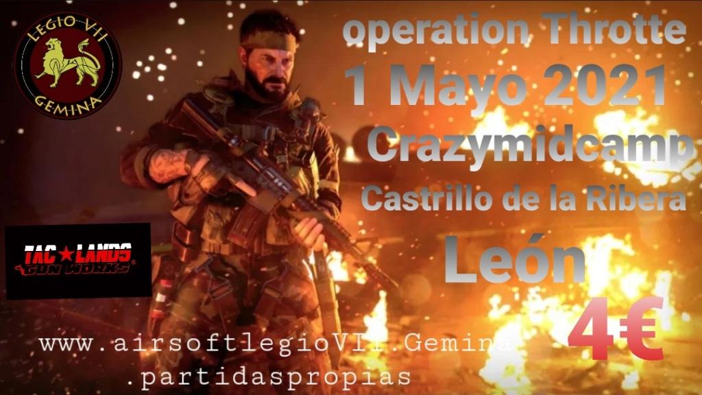 OPERATION THROTTE  SÁBADO 1 DE MAYO DE 2021 CRAZYMINDCAMP  Smarts19