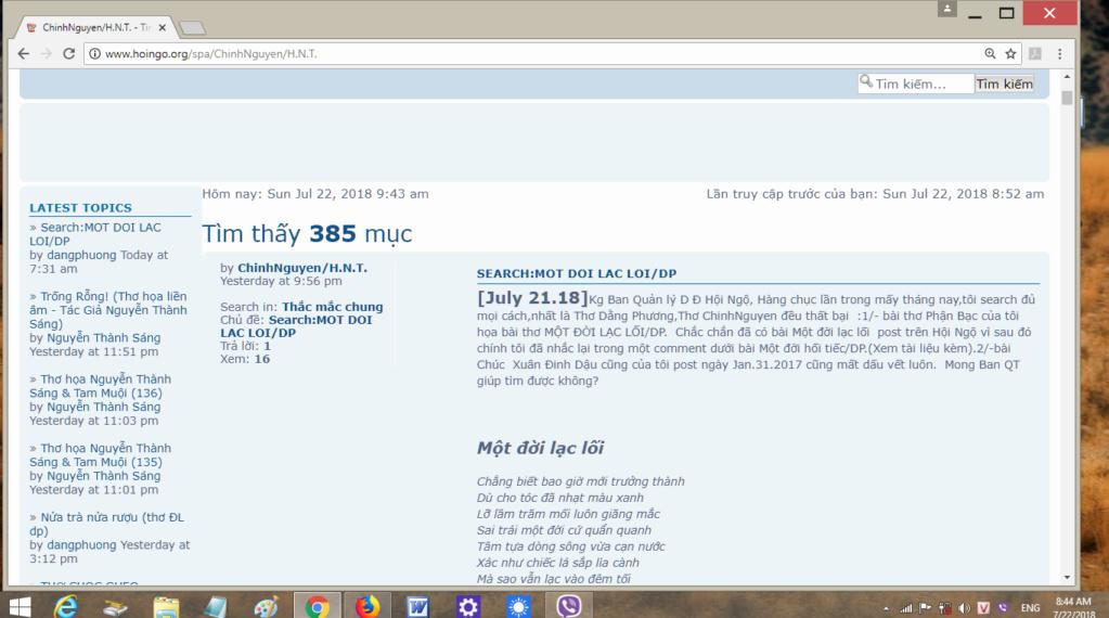 Search:MOT DOI LAC LOI/DP 0410