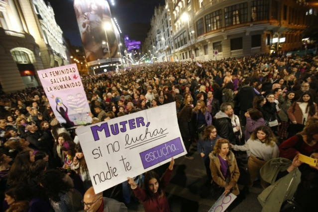 MANIFESTACIÓN FEMINISTA EN MADRID: EL FEMINISMO NO SE BORRA 15520610