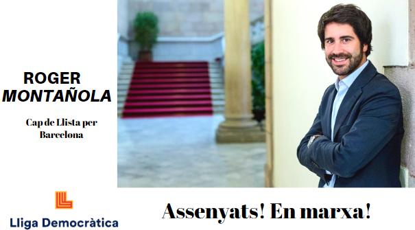 """Lliga Democràtica / """"Assenyats! En Marxa!"""" Cartel10"""